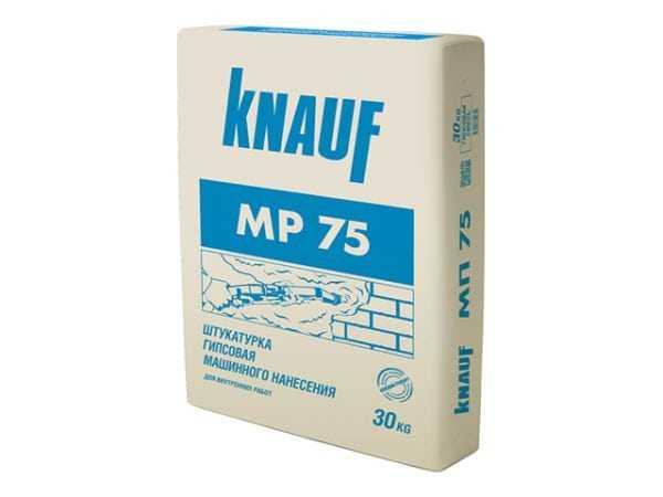 Гипсовая смесь KNAUF МП-75 для машинного нанесения