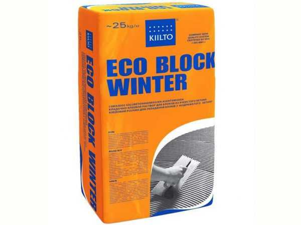 Состав Kiilto Eco для зимы