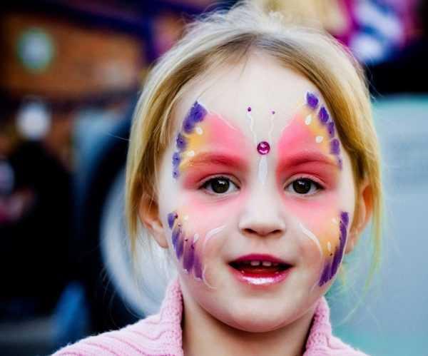 Современные краски для кожи не вызывают аллергической реакции и безопасны для детей