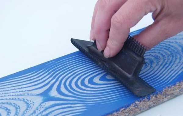 Создание деревянной текстуры с помощью красок