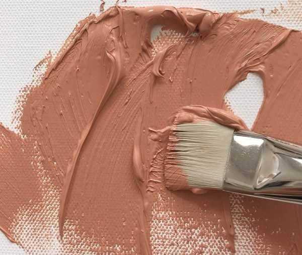 Создание краски цвета кожи в живописи