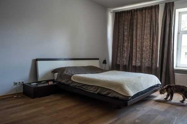 Спальная комната в загородном доме