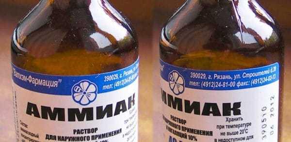 Аммиак в бутылках