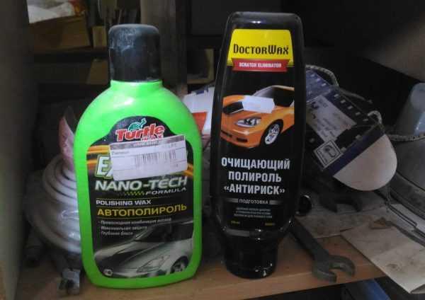 Средства для полировки лакокрасочного покрытия