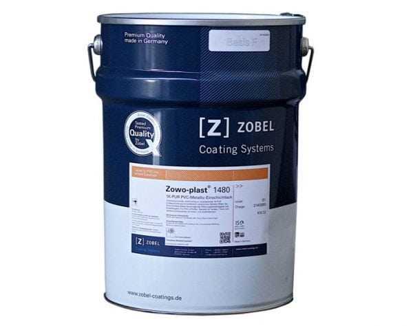 Средство для окраски пластиковых окон производства Zobel
