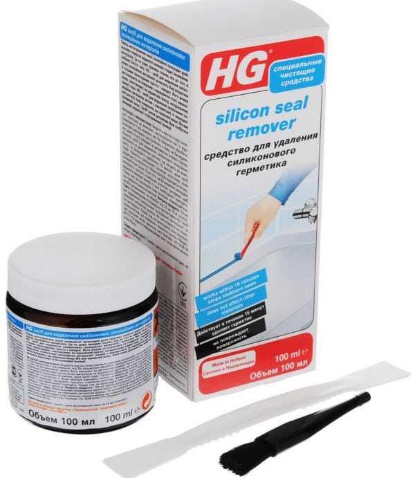 Средство для удаления силиконового герметика