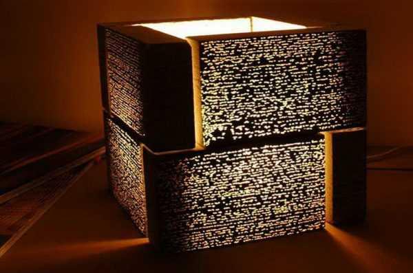 Светильник из блоков Litracon