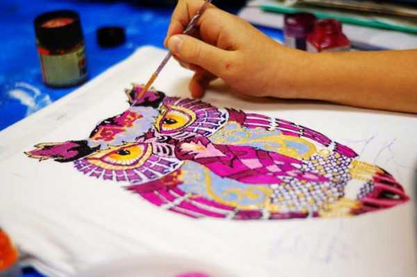 Свободная роспись ткани