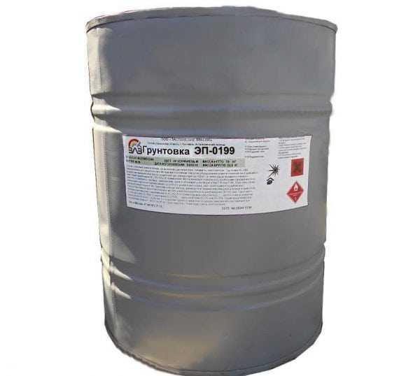 ЭП-0199 отличается хорошей водостойкостью