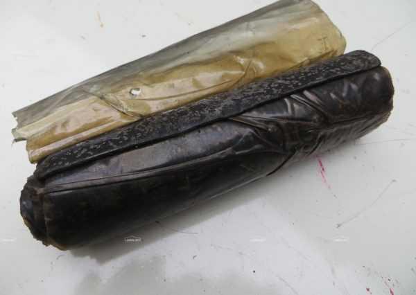 Герметик можно изготовить из сырой резины