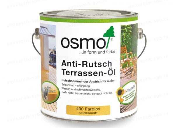 Масло для террасной доски Osmo Anti-Rutsch