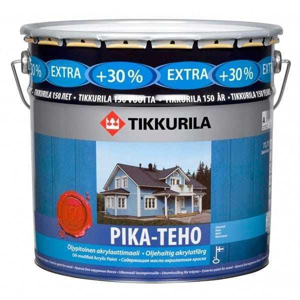 Акриловая краска Tikkurila Pika-Teho