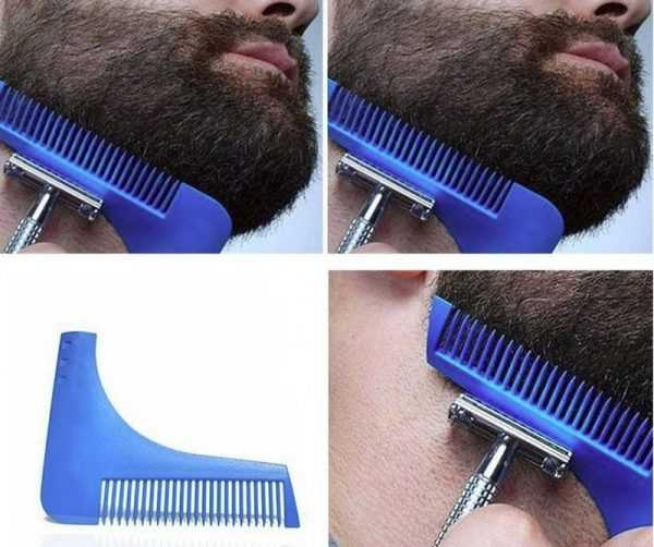 Гребень для моделирования бороды