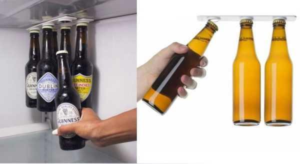 Магнитный органайзер для пива в холодильнике
