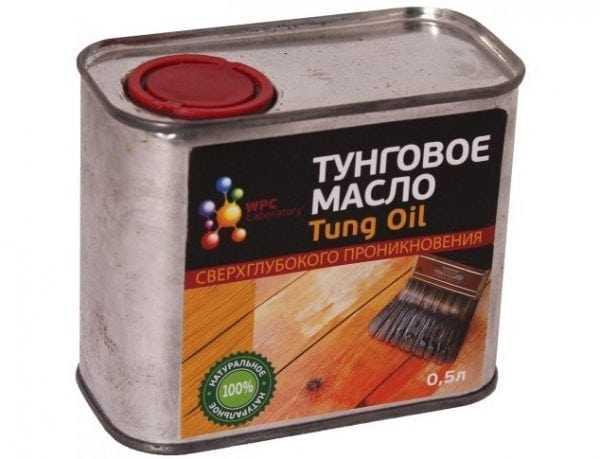 Тунговое масло сверхглубокого проникновения