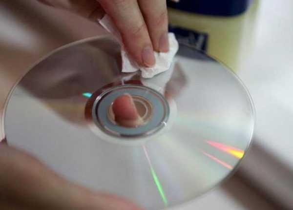 Удаление наклейки с компакт диска
