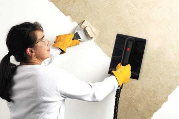 Удаление водоэмульсионной краски с бетона