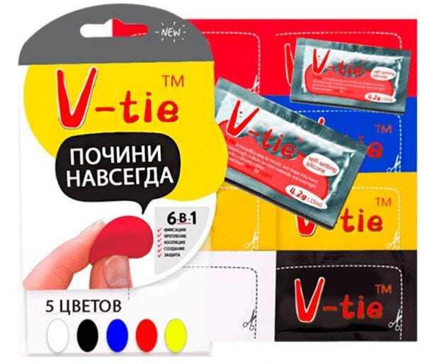 Универсальный нано-пластилин V-tie