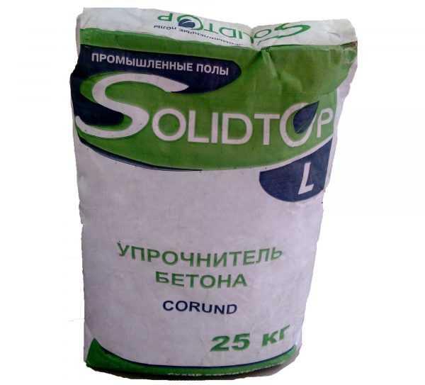 Упрочнитель бетона Solidtop Corund L
