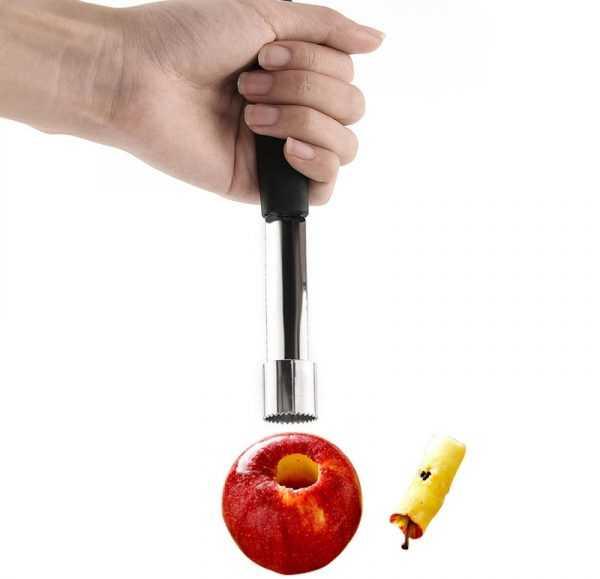 Устройство для удаления сердцевины из яблок