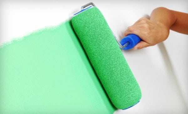 Валик для работы с водоэмульсионными красками