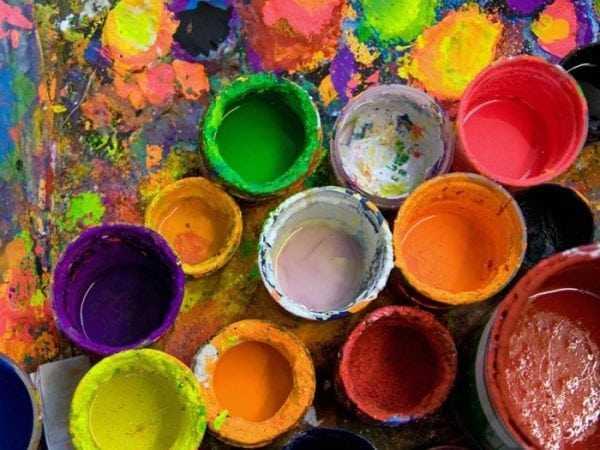 Выбор акриловых красок