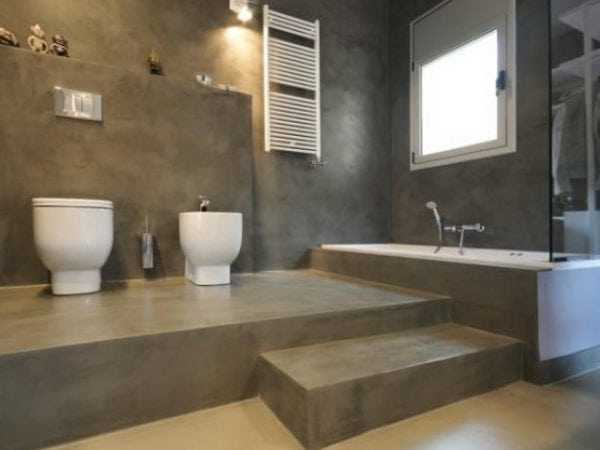 Влагостойкая шпаклевка в ванной комнате