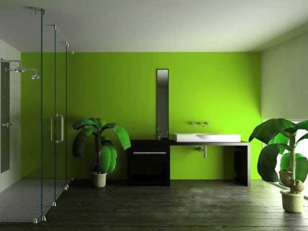 Стены и потолок, окрашенные водоэмульсионной краской своими руками