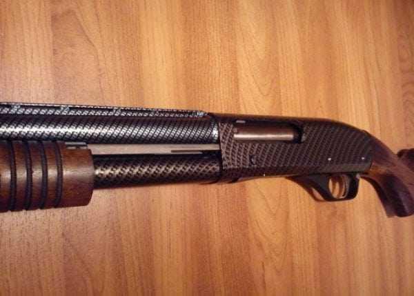 Оружие с нанесенным лаком