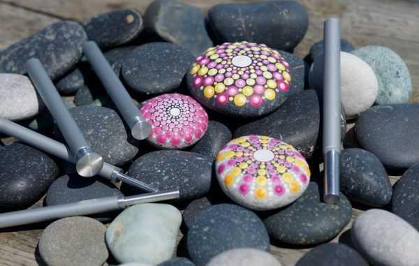 Гладкие камни для рисования