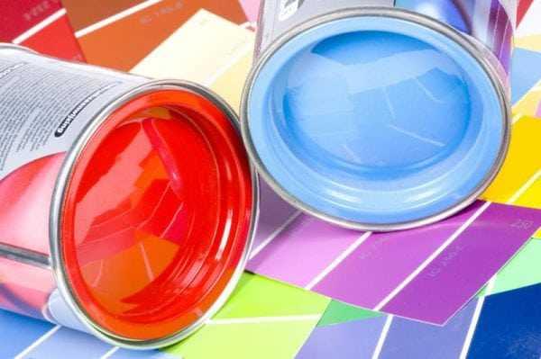 Выбираем краску