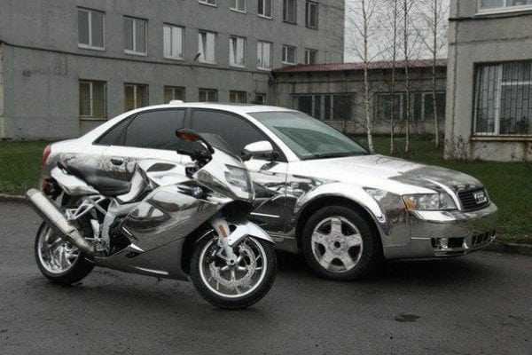 Хромированные транспортные средства