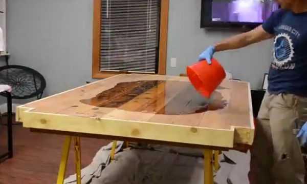 Изготовление заливного стола