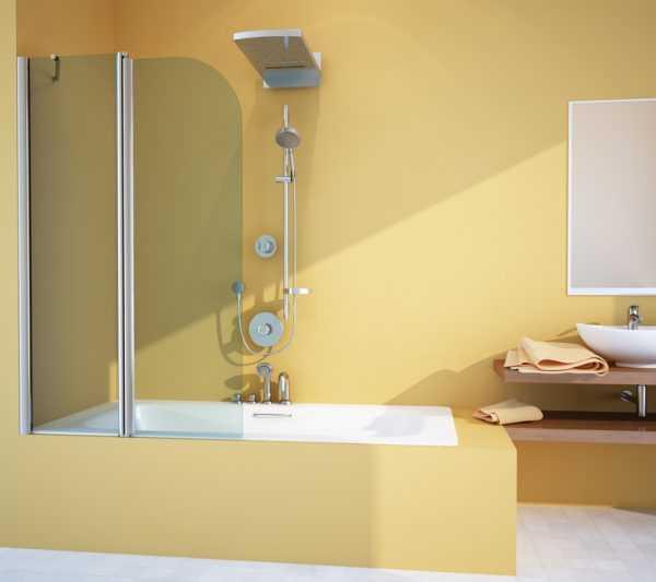 Защита от брызг в ванной комнате