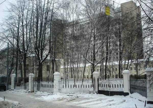 Здание Краснознаменной Академии Внешней разведки
