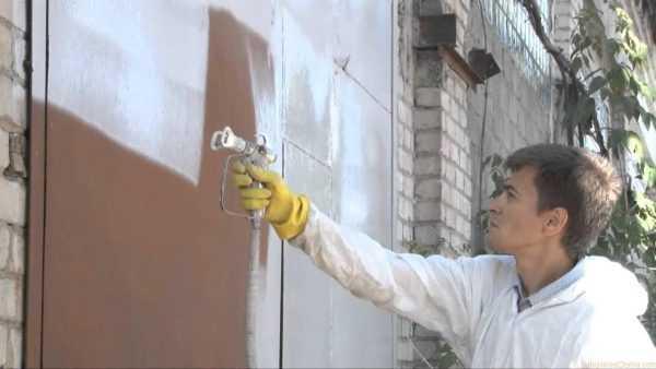 Теплоизоляционная краска обладает высокой стойкостью к атмосферным осадкам