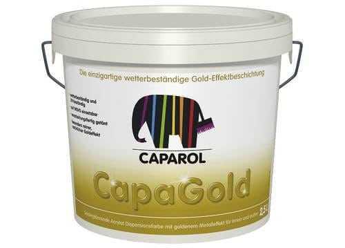 Золотая акриловая краска для внутренних и наружных работ